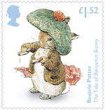 Beatrix Potter £1.52 Stamp (2016) The Tale of Benjamin Bunny