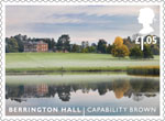 Landscape Gardens £1.05 Stamp (2016) Berrington Hall - Capability Brown