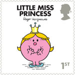 Mr Men and Little Misses 1st Stamp (2016) Little Miss Princess