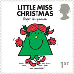 Mr Men and Little Misses 1st Stamp (2016) Little Miss Christmas