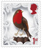 Christmas 2016 1st Stamp (2016) Robin