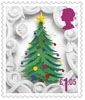 Christmas 2016 £1.05 Stamp (2016) Christmas Tree