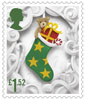 Christmas 2016 £1.52 Stamp (2016) Christmas Stocking