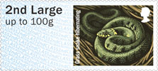 Post & Go : Hibernating Animals 1st Stamp (2016) Grass Snake