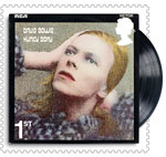 David Bowie 1st Stamp (2017) Hunky Dory