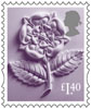 New Country Definitives £1.40 Stamp (2017) England