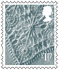 New Country Definitives £1.17 Stamp (2017) Northern Ireland