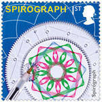 Classic Toys 1st Stamp (2017) Spirograph