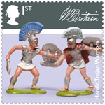 Classic Toys 1st Stamp (2017) W.Britain Toy Figures