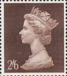 High Value Definitives 2s6d Stamp (1969) Peat Brown