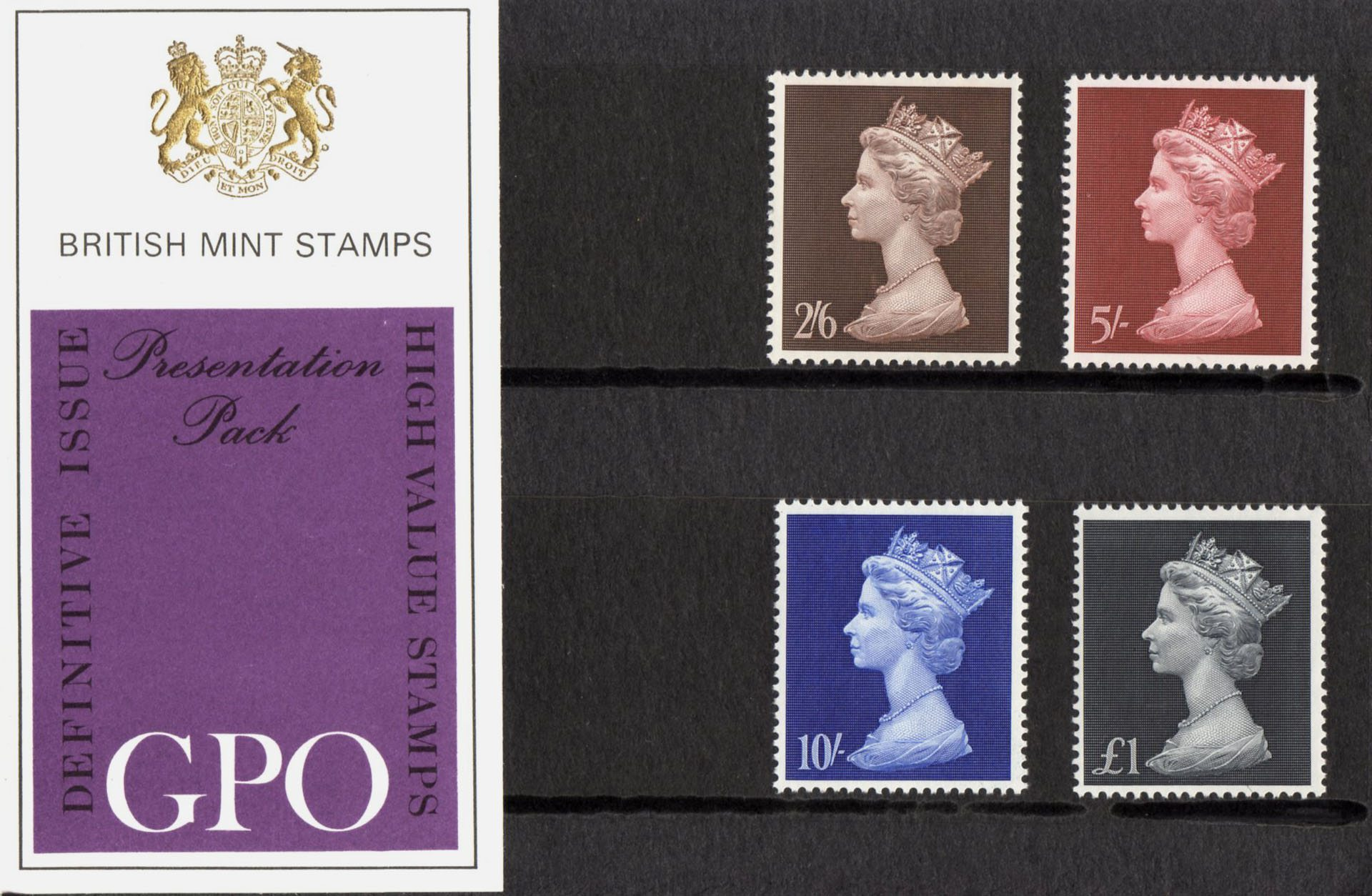 British Stamps for 1969 : Collect GB Stamps