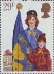 Youth Organisations 29p Stamp (1982) Girl Guide Movement