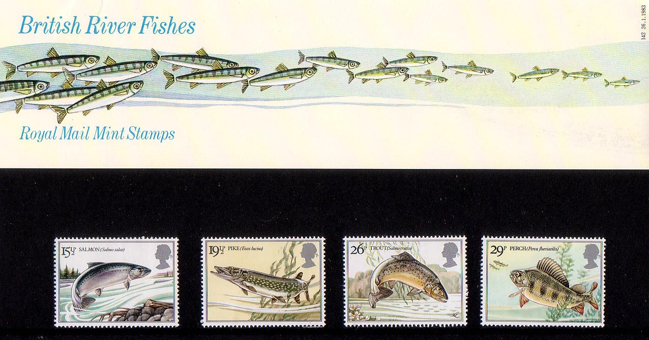 British Stamps for 1983 : Collect GB Stamps