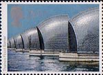 Europa. Engineering Achievements 20.5p Stamp (1983) Thames Flood Barrier