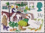 British Fairs 31p Stamp (1983) Early Produce Fairs