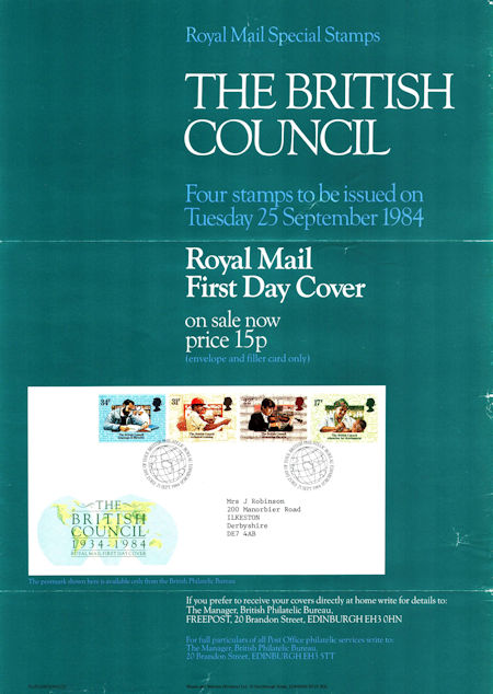 The British Council 1934-1984