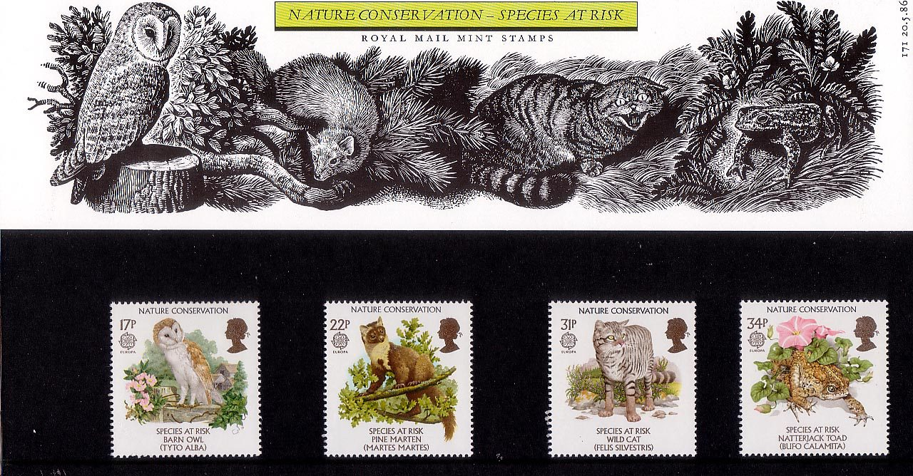 Nature Conservation Species At Risk 1986 Collect Gb