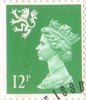 Regional Definitive - Scotland 12p Stamp (1986) Bright Emerald