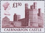 High Value Definitives £1.50 Stamp (1988) Caernarvon Castle