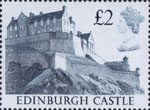 High Value Definitives £2 Stamp (1988) Edinburgh Castle