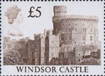 High Value Definitives £5 Stamp (1988) Windsor Castle