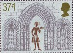 Christmas 1989 38p Stamp (1989) Triple Arch from West Front