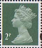 Definitives 2p Stamp (1993) deep green