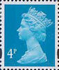 Definitives 4p Stamp (1993) new blue