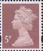 Definitives 5p Stamp (1993) dull red-brown