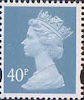 Definitives 40p Stamp (1993) deep azure
