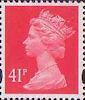 Definitives 41p Stamp (1993) rosine
