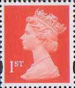 Definitives 1st Stamp (1993) bright orange-red