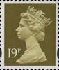 Definitive 19p Stamp (1993) Bistre