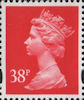 Definitive 38p Stamp (1993) Rosine