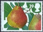 The Four Seasons. Autumn 39p Stamp (1993) Pear