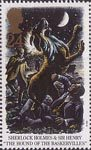 Sherlock Holmes 24p Stamp (1993) The Hound of the Baskervilles