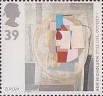 Europa - Art in the 20th Century 39p Stamp (1993) 'Still Life: Odyssey I' (Ben Nicholson)