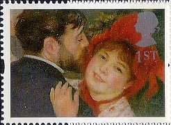 Greetings stamp greetings in arts 1995 collect gb stamps greetings stamp greetings in arts 1st stamp 1995 la danse m4hsunfo