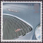 Classic Sports Cars 37p Stamp (1996) Austin-Healey 100