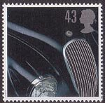 Classic Sports Cars 43p Stamp (1996) Jaguar XK120