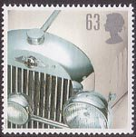 Classic Sports Cars 63p Stamp (1996) Morgan Plus 4
