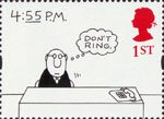 Greetings - Cartoons 1st Stamp (1996) '4:55 P.M.' (Charles Barsotti)