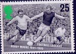 Football Legends 25p Stamp (1996) Bobby Moore