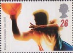 Olympics and Paralympics 1996 26p Stamp (1996) Basketball