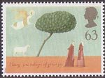 Christmas 1996 63p Stamp (1996) The Shepherds
