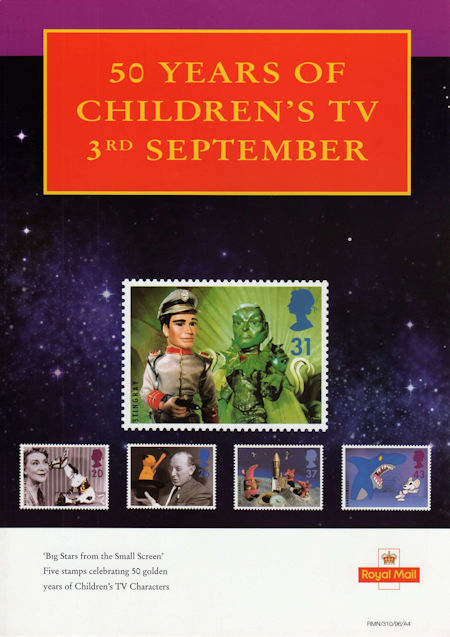 Big Stars from the Small Screen - Children's TV Characters (1996)