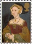 The Great Tudor 26p Stamp (1997) Jane Seymour