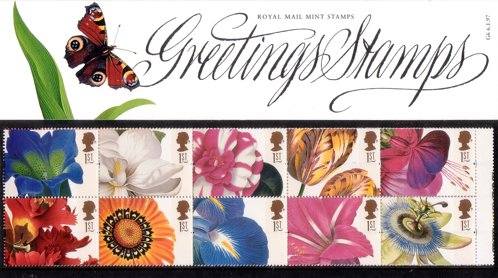 Greetings stamps 1997 collect gb stamps presentation pack m4hsunfo