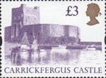 High Value Definitives £3 Stamp (1997) Carrickfergus Castle