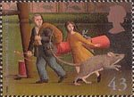 Magical Worlds 43p Stamp (1998) The Borrowers (Mary Norton)